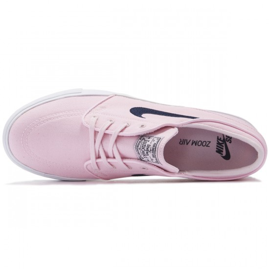 Nike Zoom Stefan Janoski Canvas Shoes - Prism Pink/Obsidian - 10.0