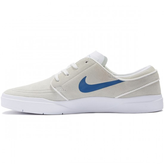 Nike SB Stefan Janoski Hyperfeel Shoes - Summit White/Industrial Blue - 10.0