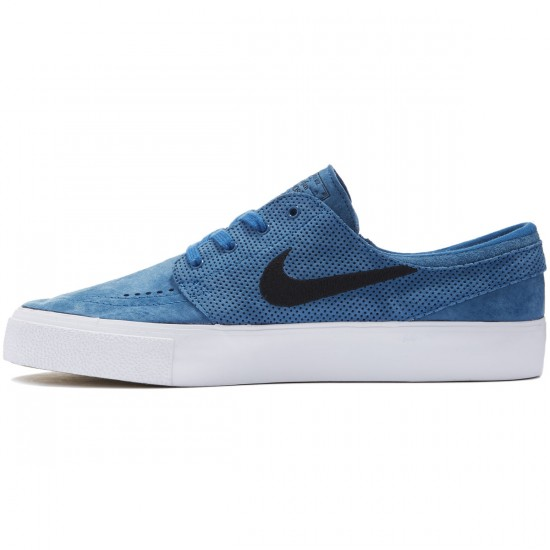 Nike SB Zoom Stefan Janoski HT Shoes - Industrial Blue/Black - 10.0