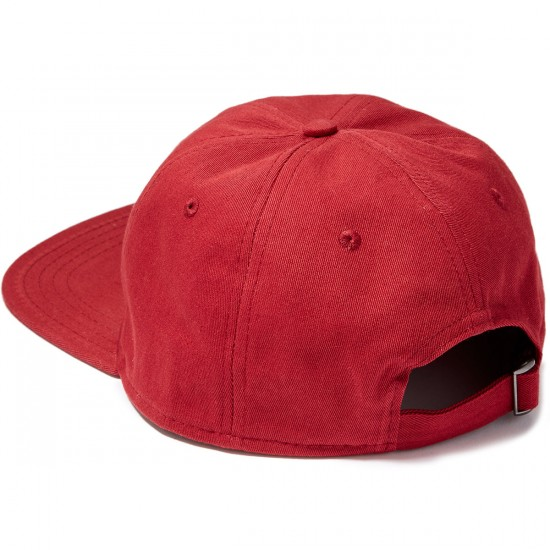 The Killing Floor Other Worlds Unstructured Hat - Burgundy/White