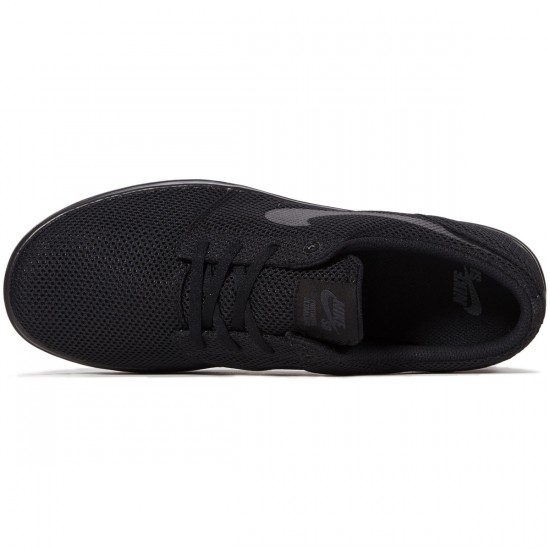 Nike SB Portmore II Ultralight Shoes - Black/Black/Anthracite - 6.0