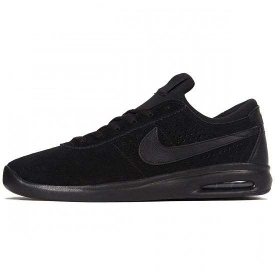 Nike SB Air Max Bruin Vapor Shoes - Black/Black/Anthracite - 7.0