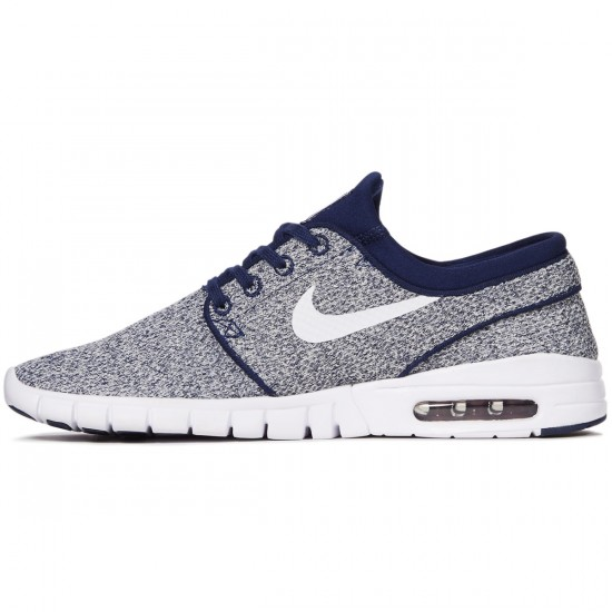 Nike Stefan Janoski Max Shoes - Binary Blue/White/Team Red - 7.0