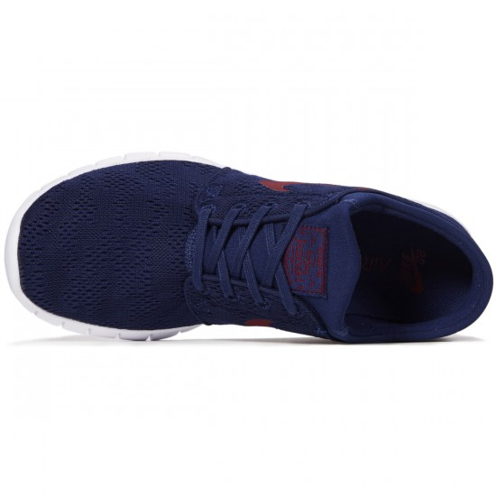 Nike Stefan Janoski Max Shoes - Binary Blue/Team Red/Gum Brown - 7.0
