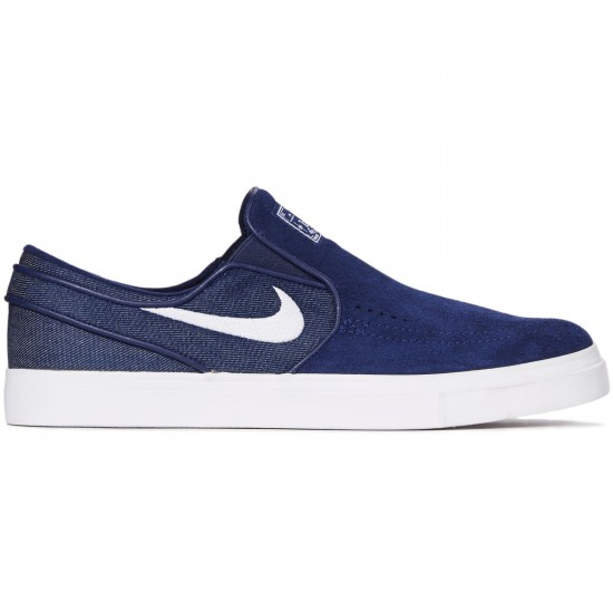 Nike Zoom Stefan Janoski Slip-On Shoes - Binary Blue/White - 6.0