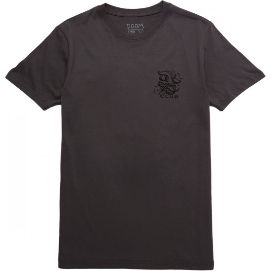 Doom Sayers Widow T-Shirt - Charcoal