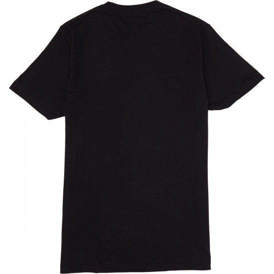 State Free And Liberated T-Shirt - Black