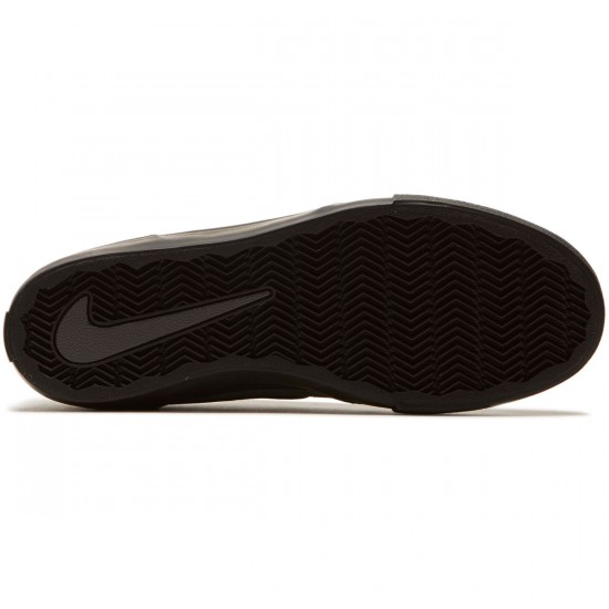 Nike SB Solarsoft Portmore II Shoes - Dark Grey/Black/White