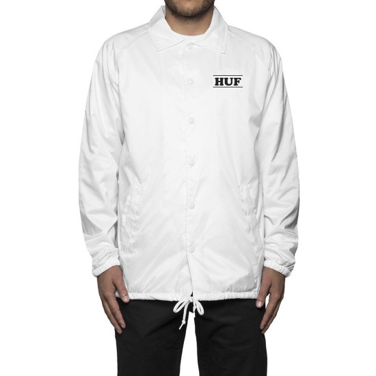 Huf X Peanuts Pigpen Coaches Jacket - White
