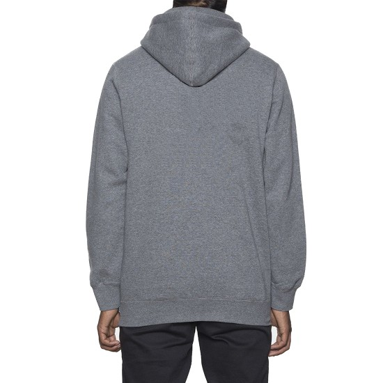 Huf X Peanuts Snoopy Box Logo Hoodie - Grey Heather