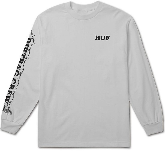 Huf X Peanuts Pigpen Long Sleeve T-Shirt - White