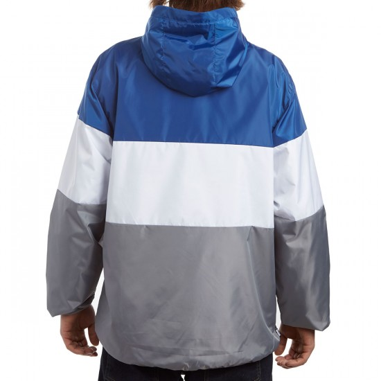 DGK Tri Windbreaker Jacket - Navy