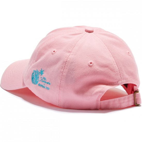 The Hundreds Cell Strapback Hat - Pink
