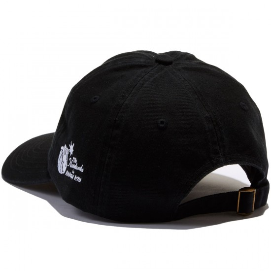 The Hundreds Alco Strapback Hat - Black