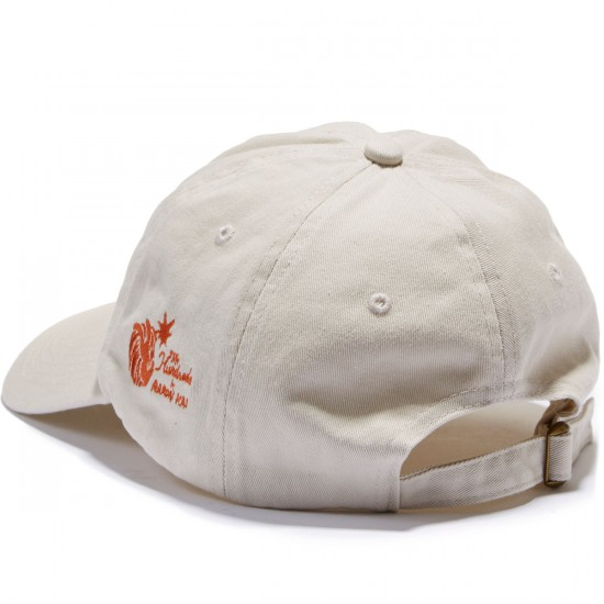 The Hundreds Alco Strapback Hat - Stone
