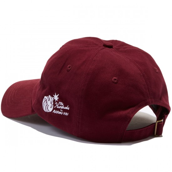 The Hundreds Buttox Strapback  Hat - Maroon