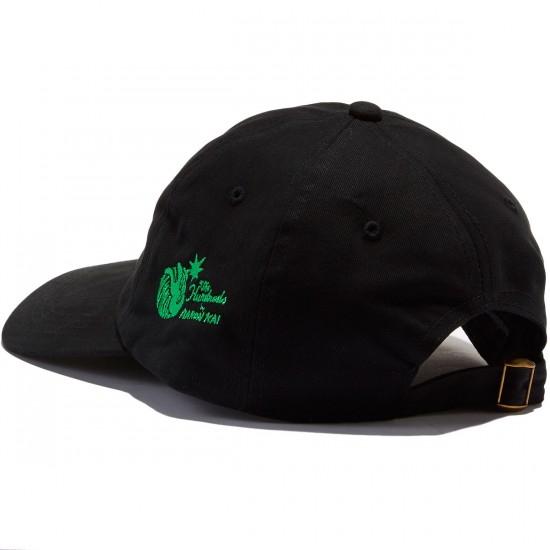 The Hundreds Mary Strapback Hat - Black