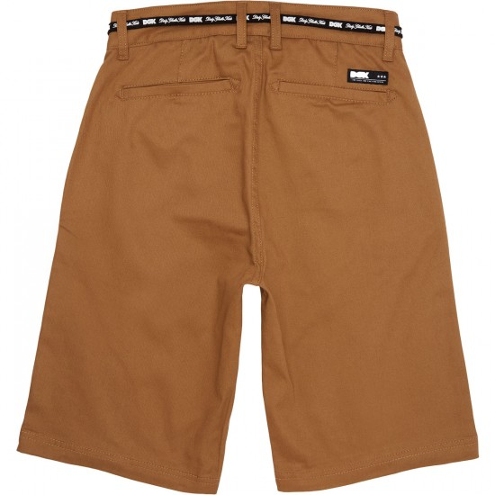 DGK Street Chino Shorts - Dark Khaki