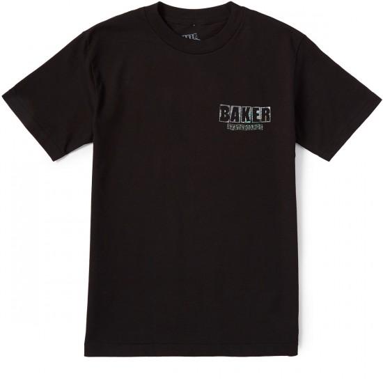 Baker Holographic T-Shirt - Black