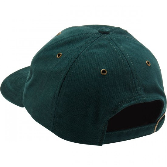 Pizza Logo Hat - Forest Green