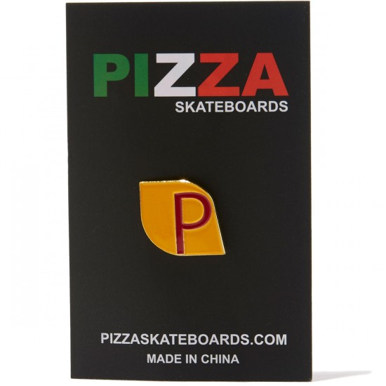 Pizza Sol Pin - Red/Blue