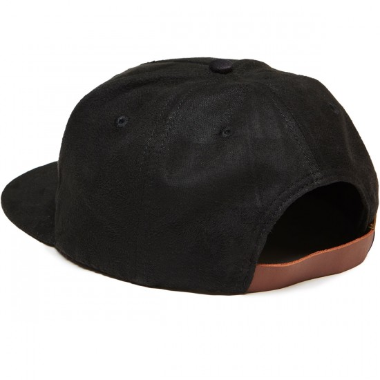 CLSC College Strapback Hat - Black