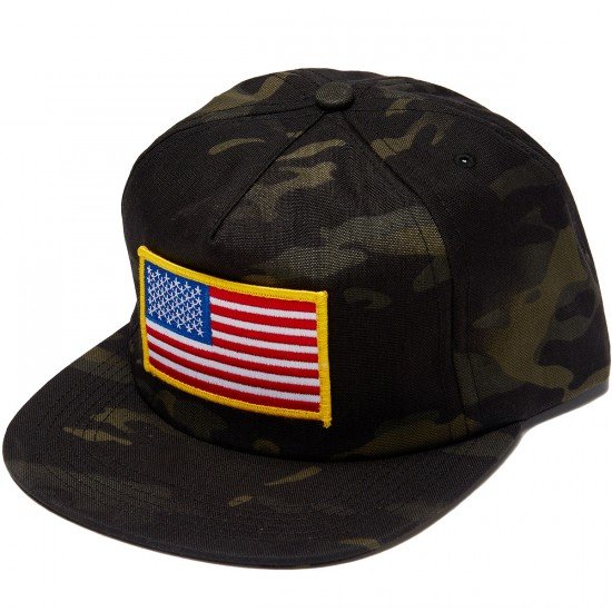 ABC Hat Co Springsteen Camo Snapback Hat - Camo