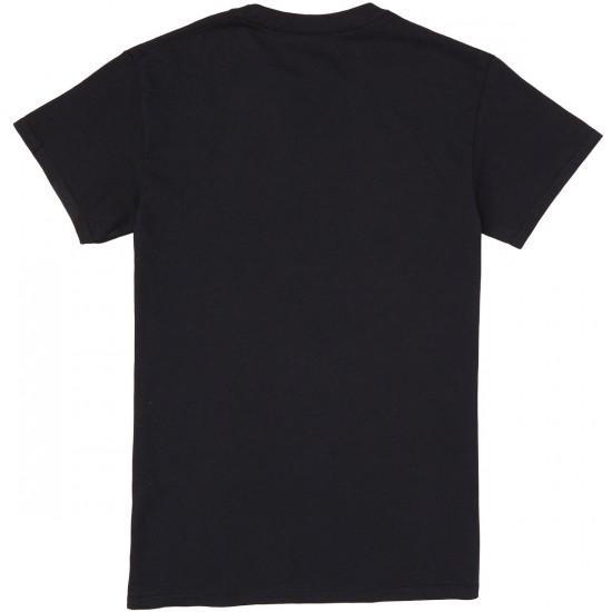 Illegal Civilization Classic Embroidery T-Shirt - Black