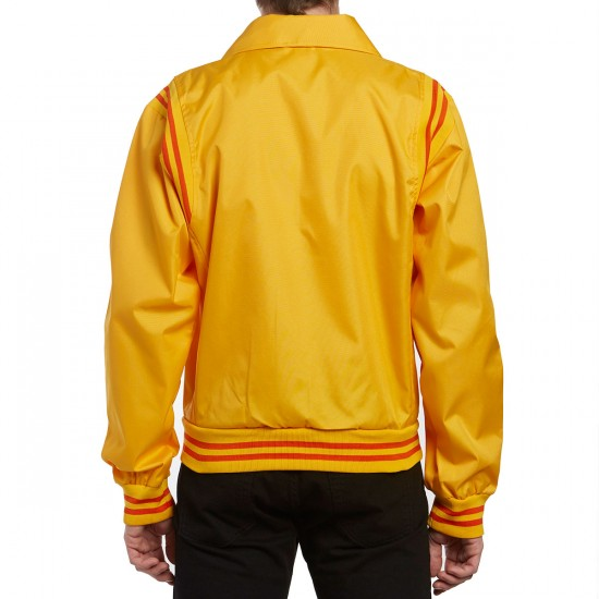 Illegal Civilization Bowling Alley Jacket - Yellow