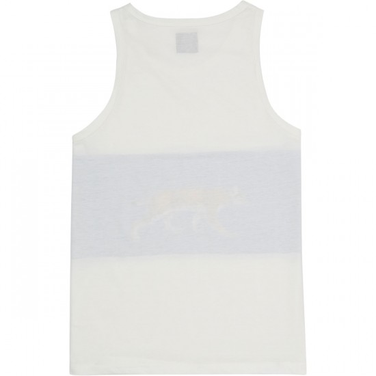 Antler And Woods Bobcat Tank Top - Navy/White