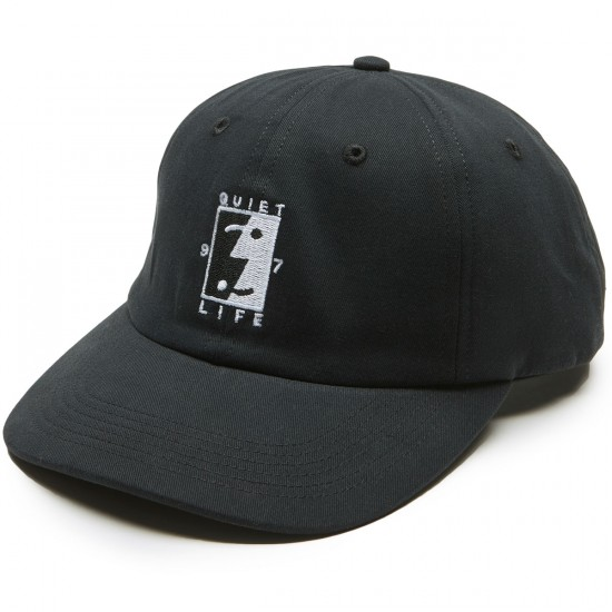 Quiet Life Finder Polo Hat - Black