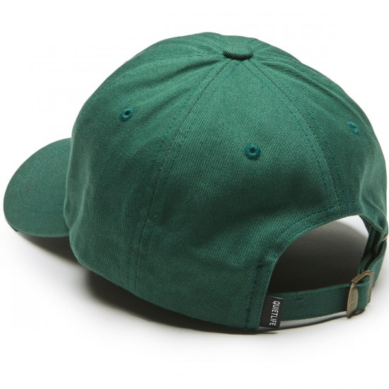 Quiet Life Camera Club Dad Hat - Hunter Green
