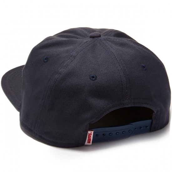 """Hopps """"H"""" Unstructured Snapback Hat - Navy"""