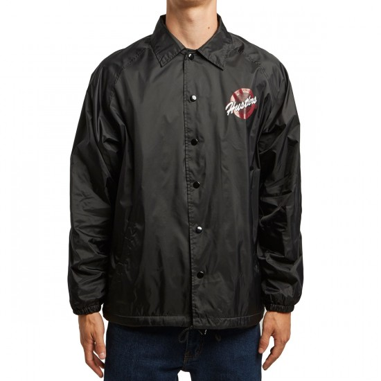 DGK Hustlers Coaches Jacket - Black