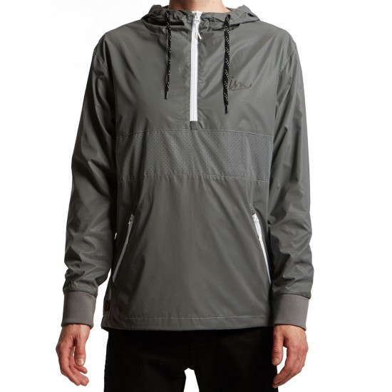 Imperial Motion Helix Reflective Anorak Jacket - Reflective Silver