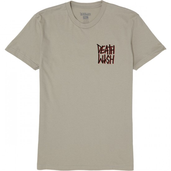 Deathwish The Truth T-Shirt - Charcoal/Black
