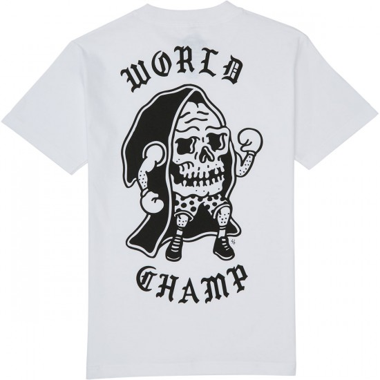 Sketchy Tank Champ T-Shirt - White