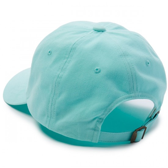 Welcome Tonal Scrawl Unstructured 6-Panel Hat - Teal