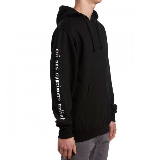 Welcome Mantra Midweight Hoodie - Black