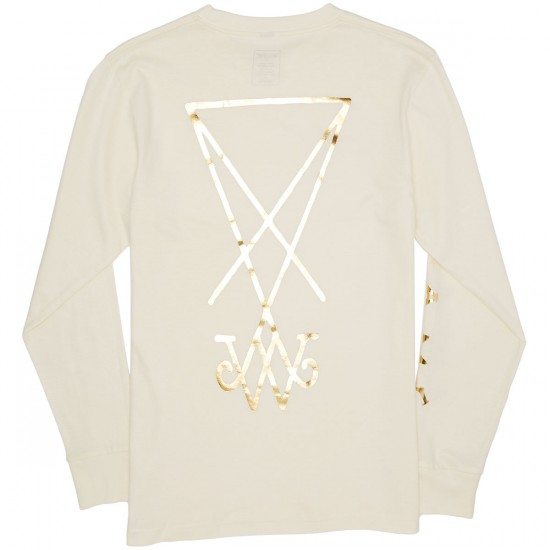 Welcome Symbol Longsleeve T-Shirt - Natural/Gold