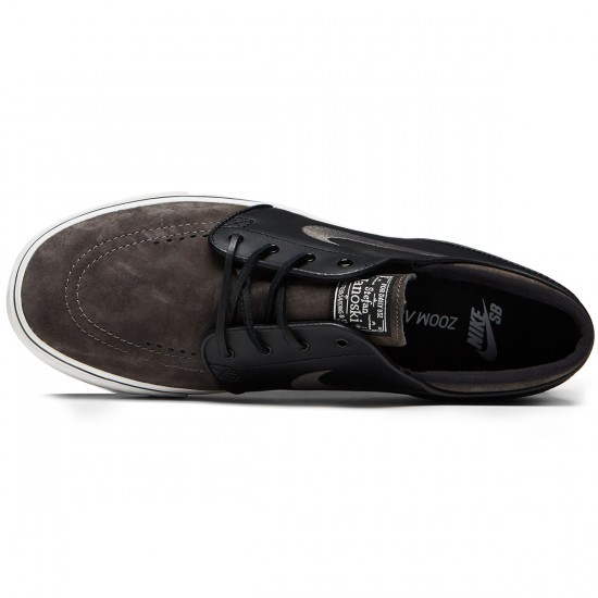 Nike Zoom Stefan Janoski Shoes - Midnight Fog/Black - 8.5