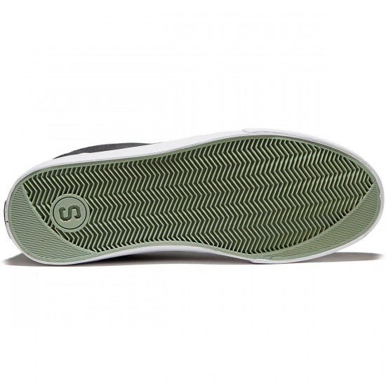 State Elgin Shoes - Pewter/Mint Suede - 8.0