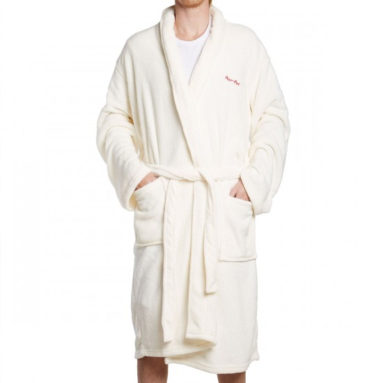 Passport Skateboards T.M.B.A. Bath Robe - White