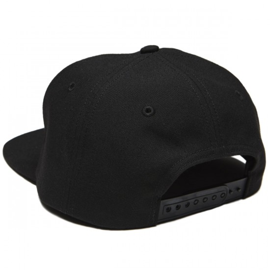 WKND Composition Snapback Hat - Black