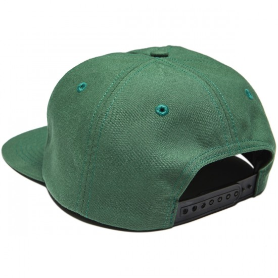 WKND Composition Snapback Hat - Olive