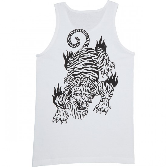 Sketchy Tank Crawl Tank Top - White