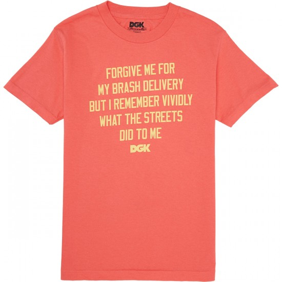 DGK Delivery T-Shirt - Coral