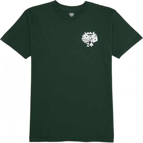 Lowcard Players Club T-Shirt - Forest Green