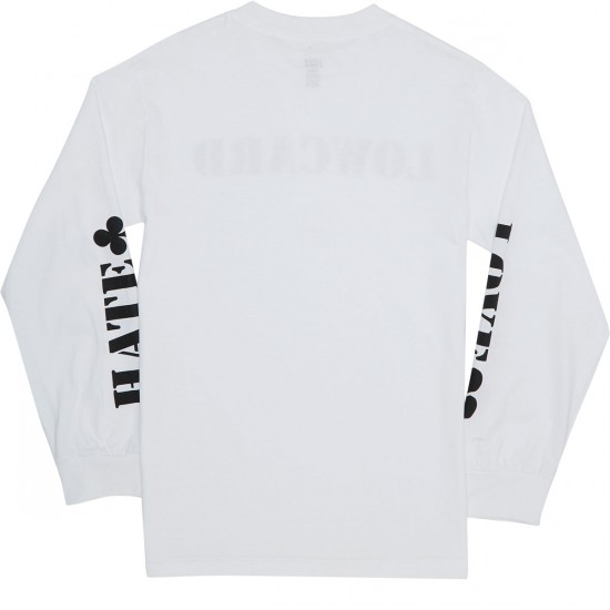 Lowcard Songs Of Love And Hate Longsleeve T-Shirt - White