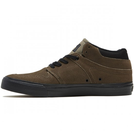 State Mercer Shoes - Walnut/Black Suede - 8.0